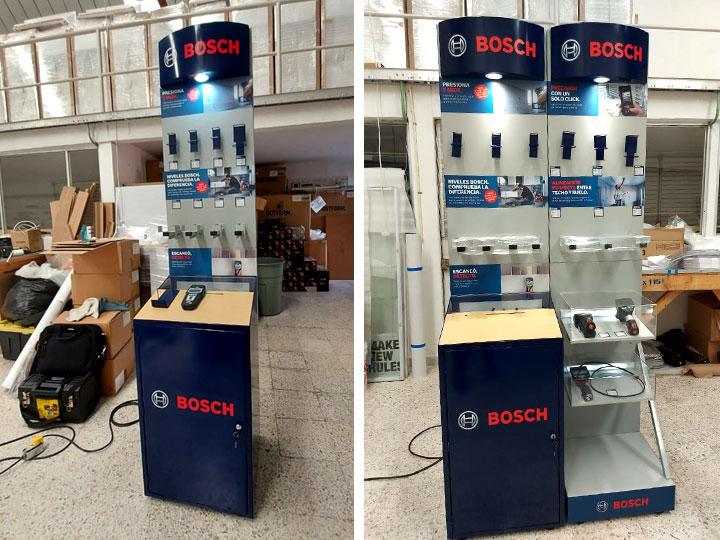 Bosch - Exhibidores para ferreteras